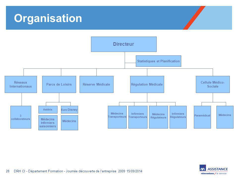 Organisation Directeur Statistiques et Planification