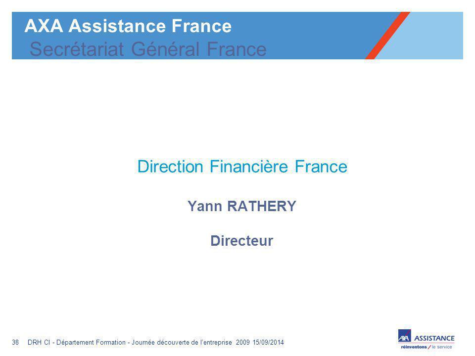 AXA Assistance France Secrétariat Général France