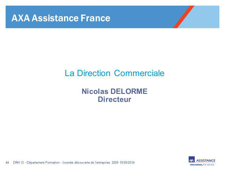 La Direction Commerciale