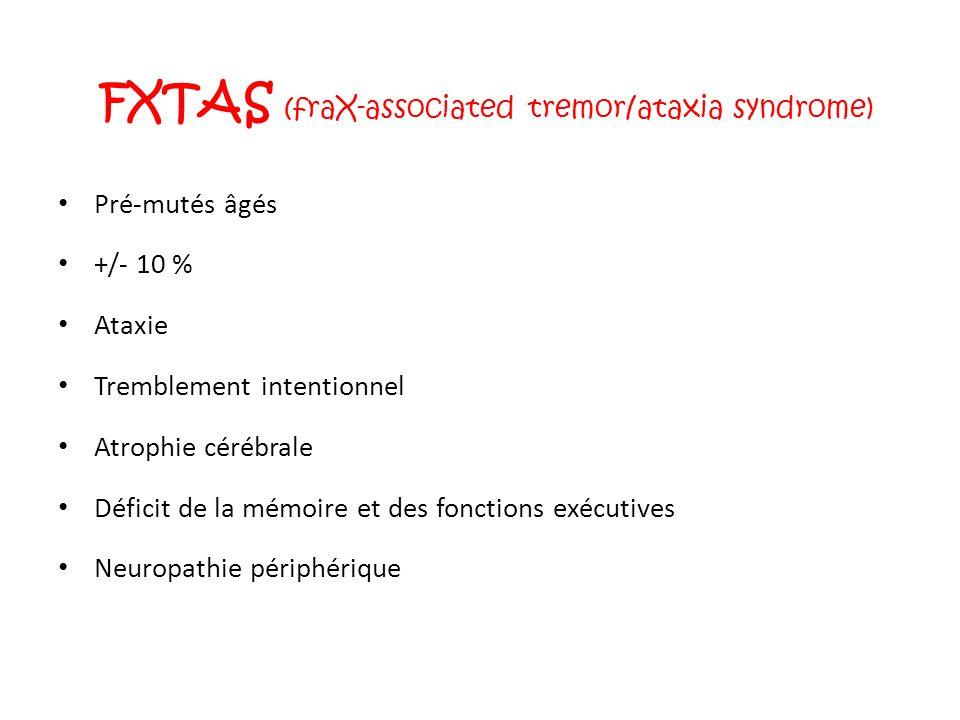 FXTAS (fraX-associated tremor/ataxia syndrome)