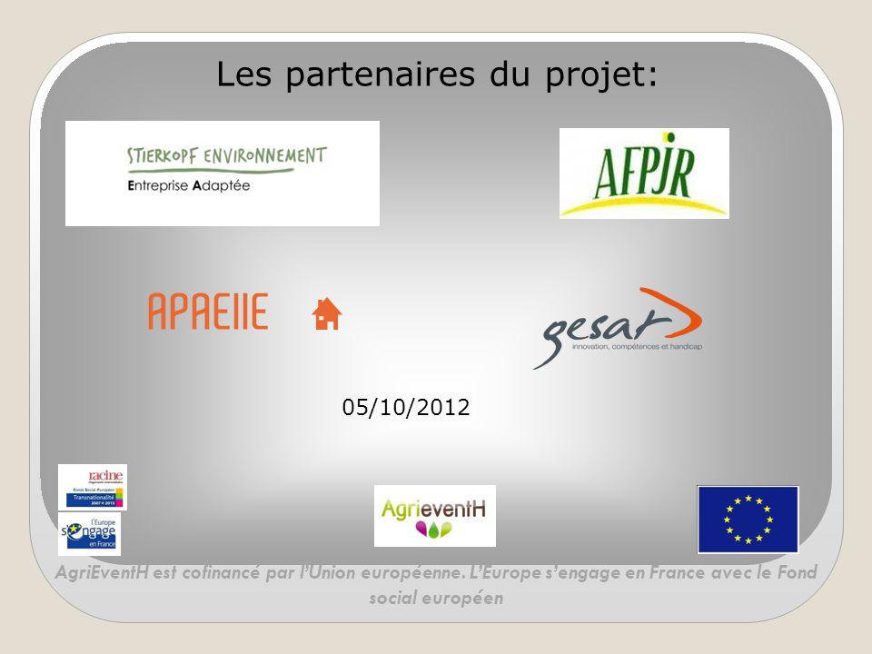 Les partenaires du projet:
