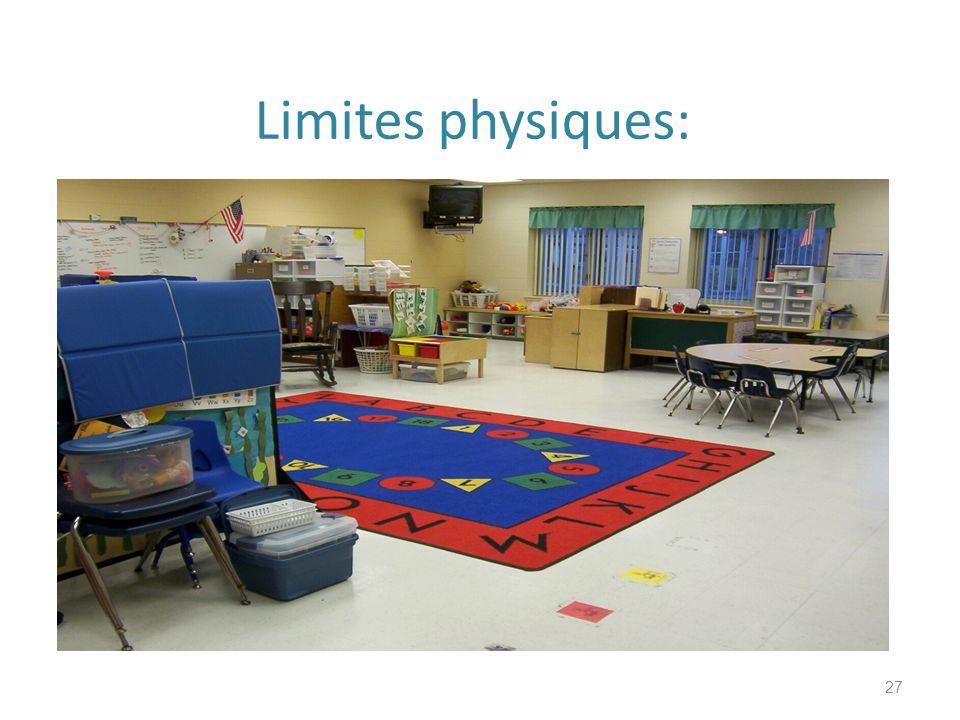 Limites physiques: describe