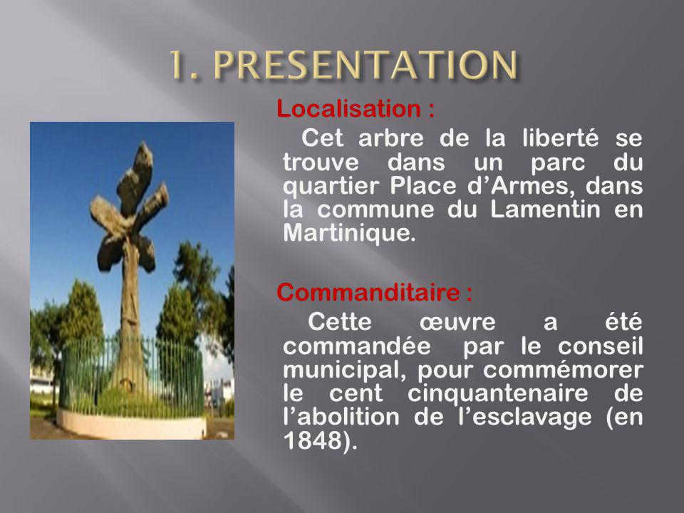 1. PRESENTATION Localisation :