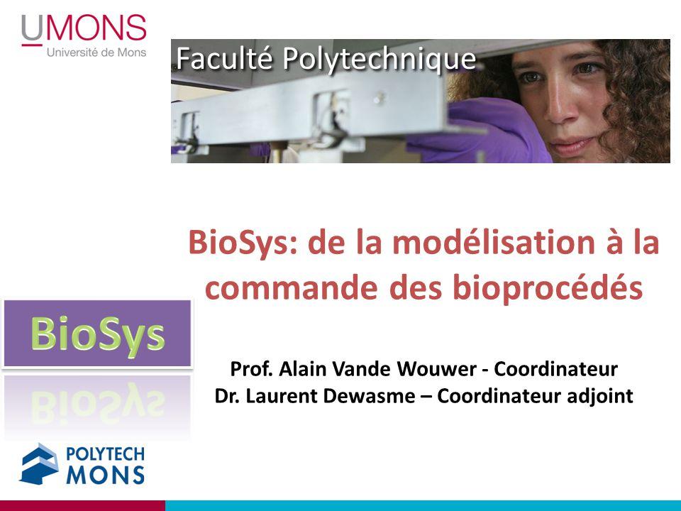 BioSys: de la modélisation à la commande des bioprocédés Prof