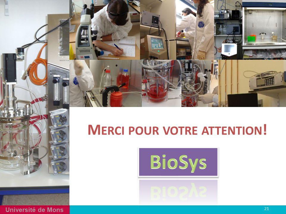 4 Merci pour votre attention! BioSys