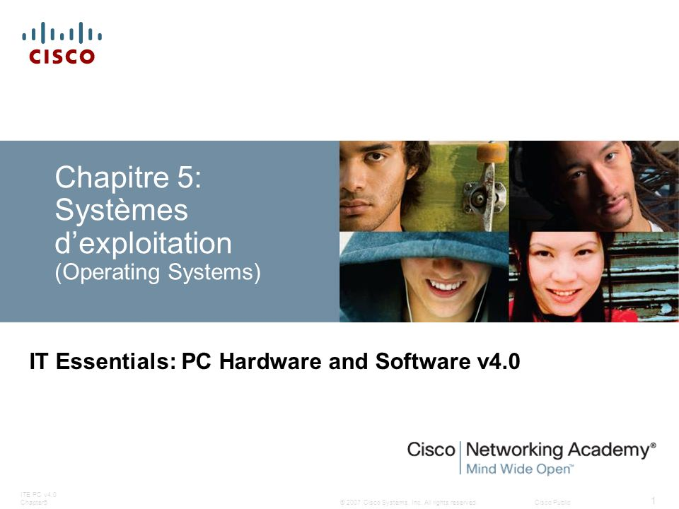 Chapitre 5: Systèmes d'exploitation (Operating Systems)
