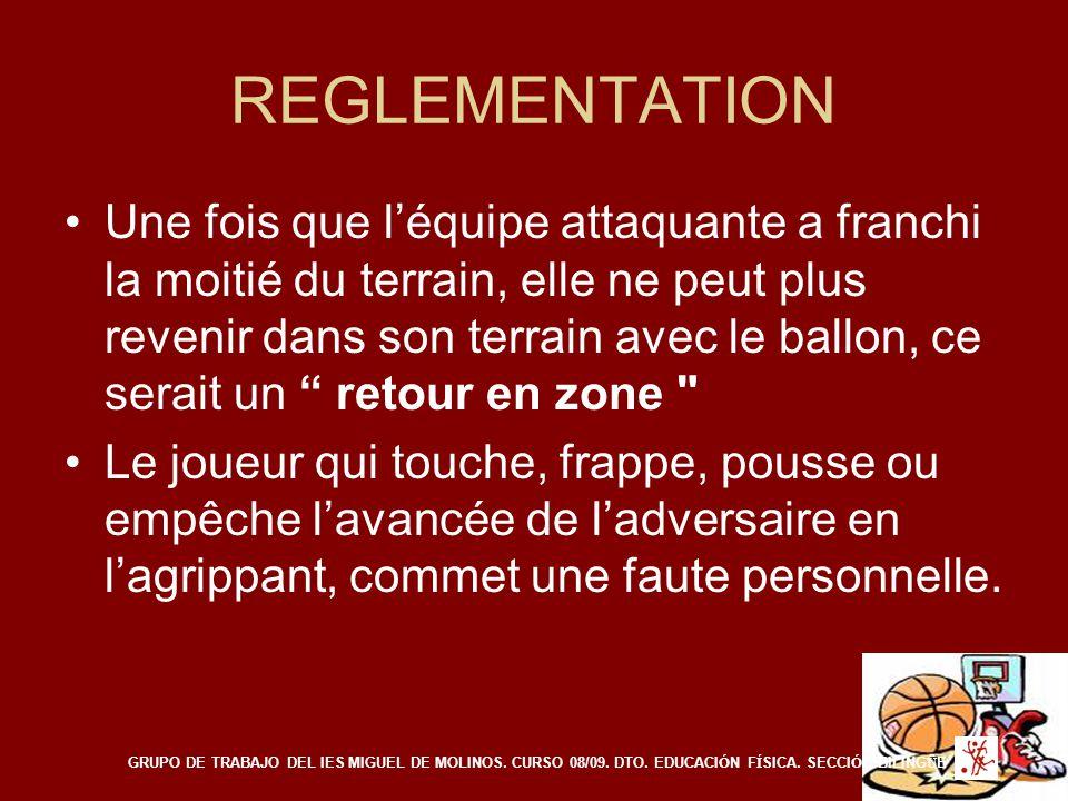 REGLEMENTATION