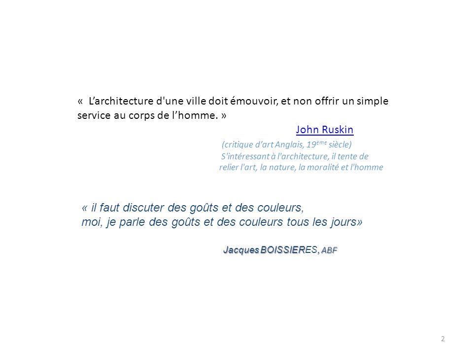 John Ruskin (critique d'art Anglais, 19ème siècle)