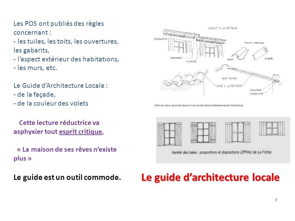 Le guide d'architecture locale