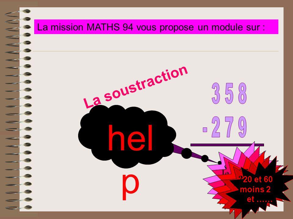 La mission MATHS 94 vous propose un module sur :