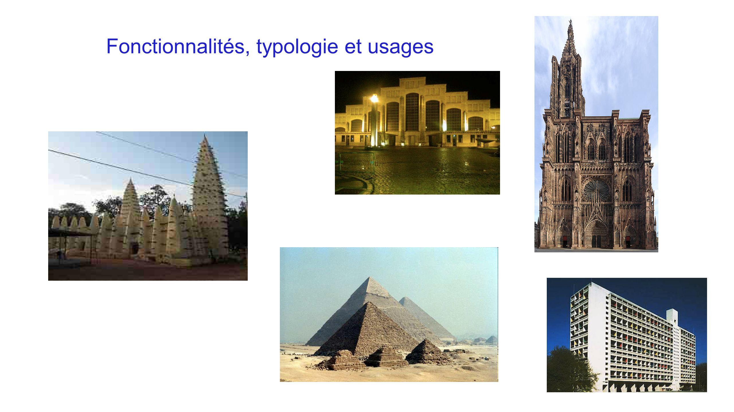 Fonctionnalités, typologie et usages