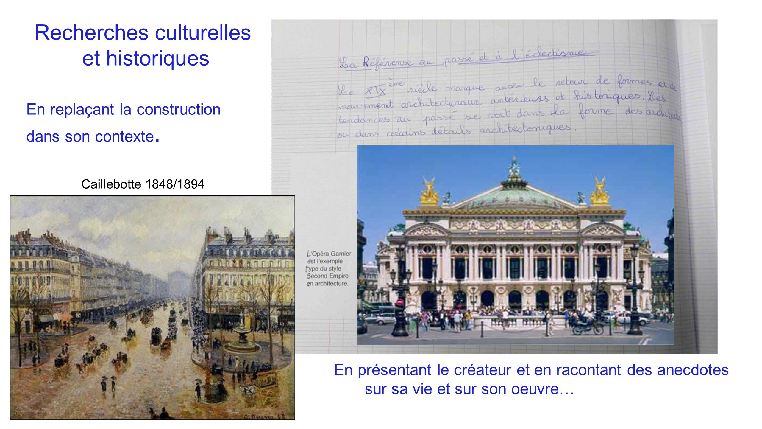 Recherches culturelles