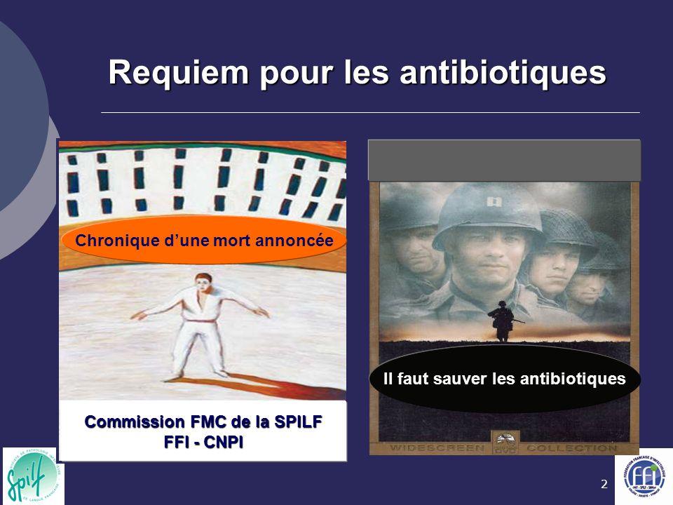 Requiem pour les antibiotiques