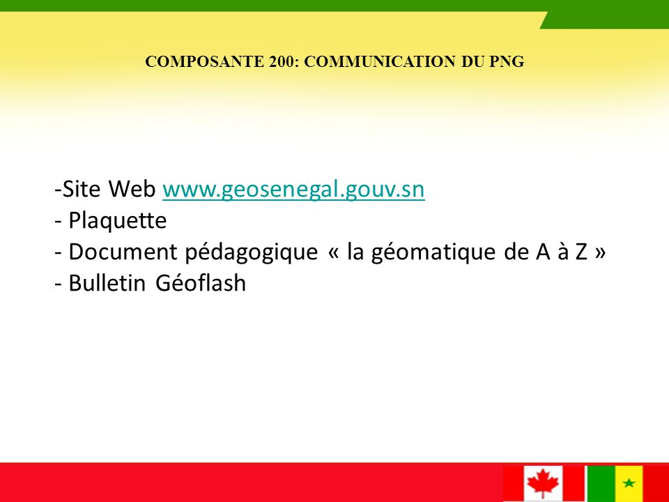 Document pédagogique « la géomatique de A à Z » Bulletin Géoflash