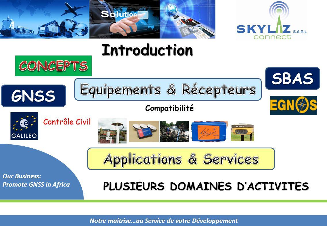 Equipements & Récepteurs Applications & Services