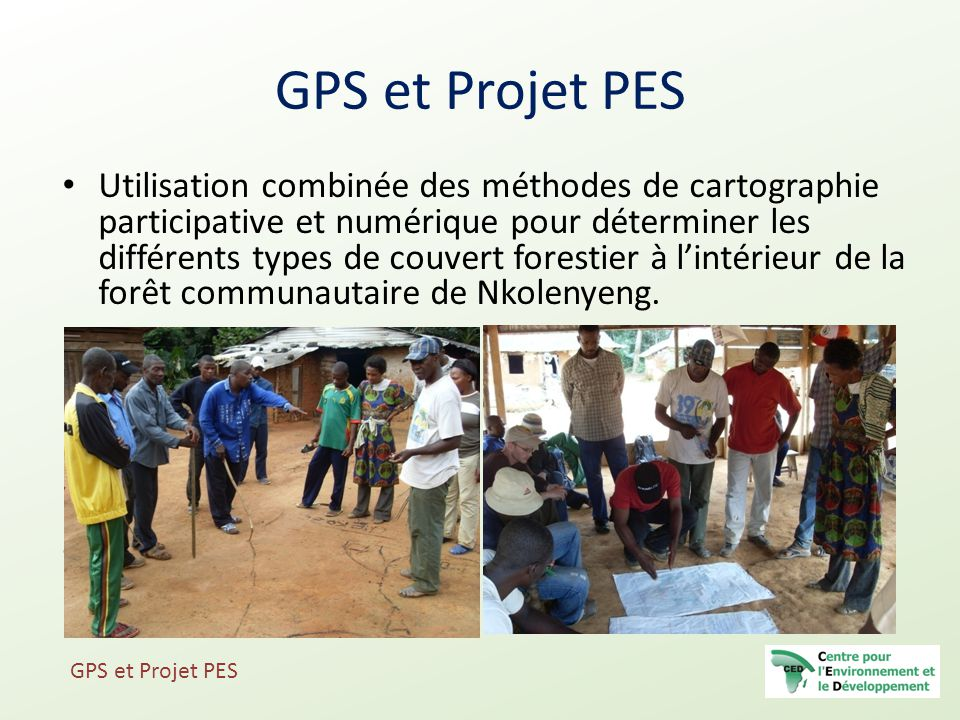 GPS et Projet PES