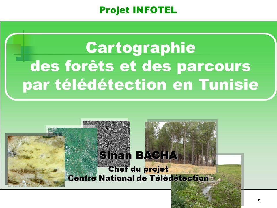 des forêts et des parcours par télédétection en Tunisie