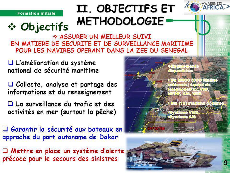 II. OBJECTIFS ET METHODOLOGIE