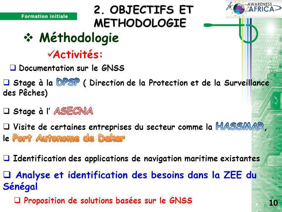 2. OBJECTIFS ET METHODOLOGIE