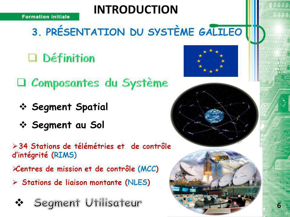 3. PRÉSENTATION DU SYSTÈME GALILEO