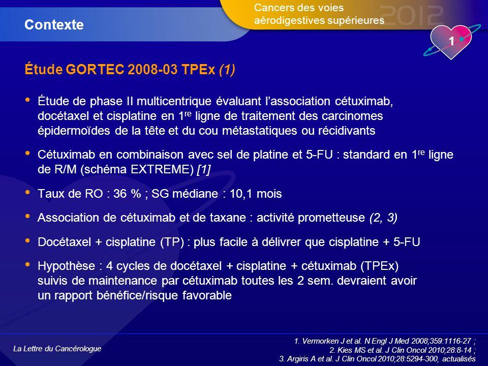 Contexte Étude GORTEC 2008-03 TPEx (1)