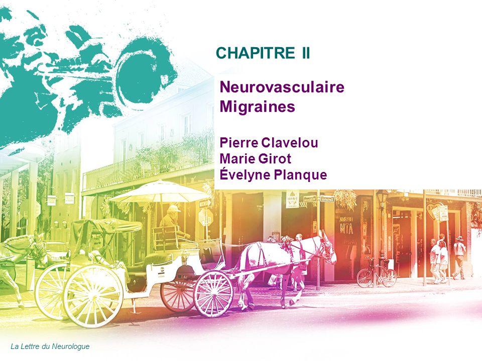 Neurovasculaire Migraines Pierre Clavelou Marie Girot Évelyne Planque
