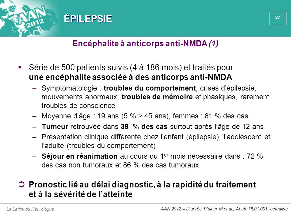 Encéphalite à anticorps anti-NMDA (1)