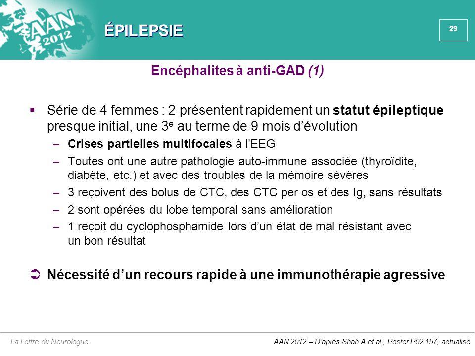 Encéphalites à anti-GAD (1)