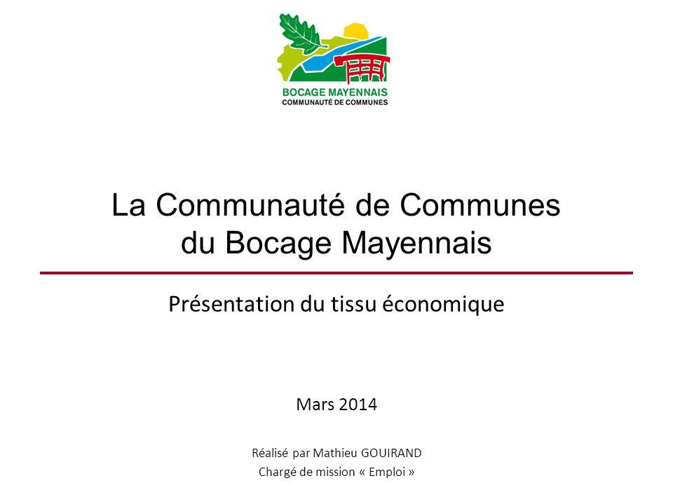La Communauté de Communes du Bocage Mayennais