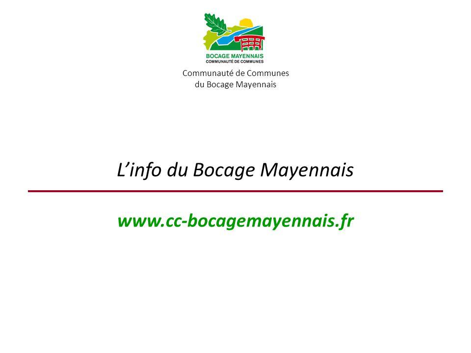 L'info du Bocage Mayennais