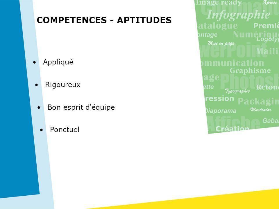 COMPETENCES - APTITUDES