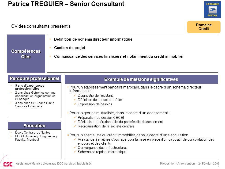 Patrice TREGUIER – Senior Consultant