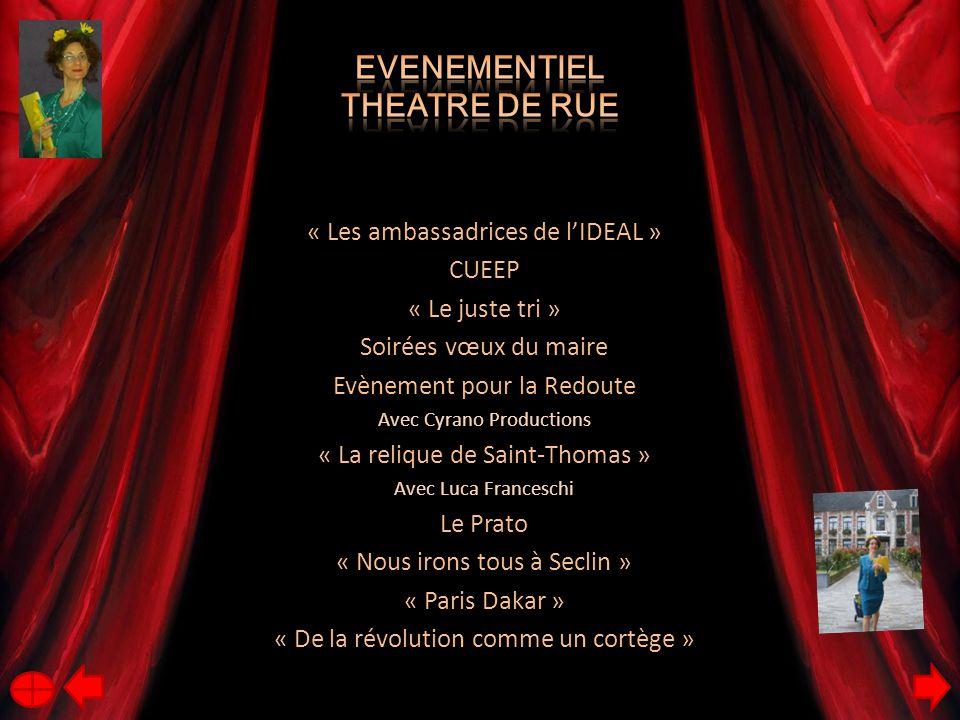 Evenementiel Theatre de rue