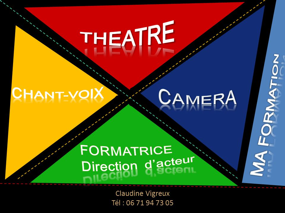 ThEAtre CHANT-VOIX CAMERA MA FORMATION FORMATRICE Direction d'acteur