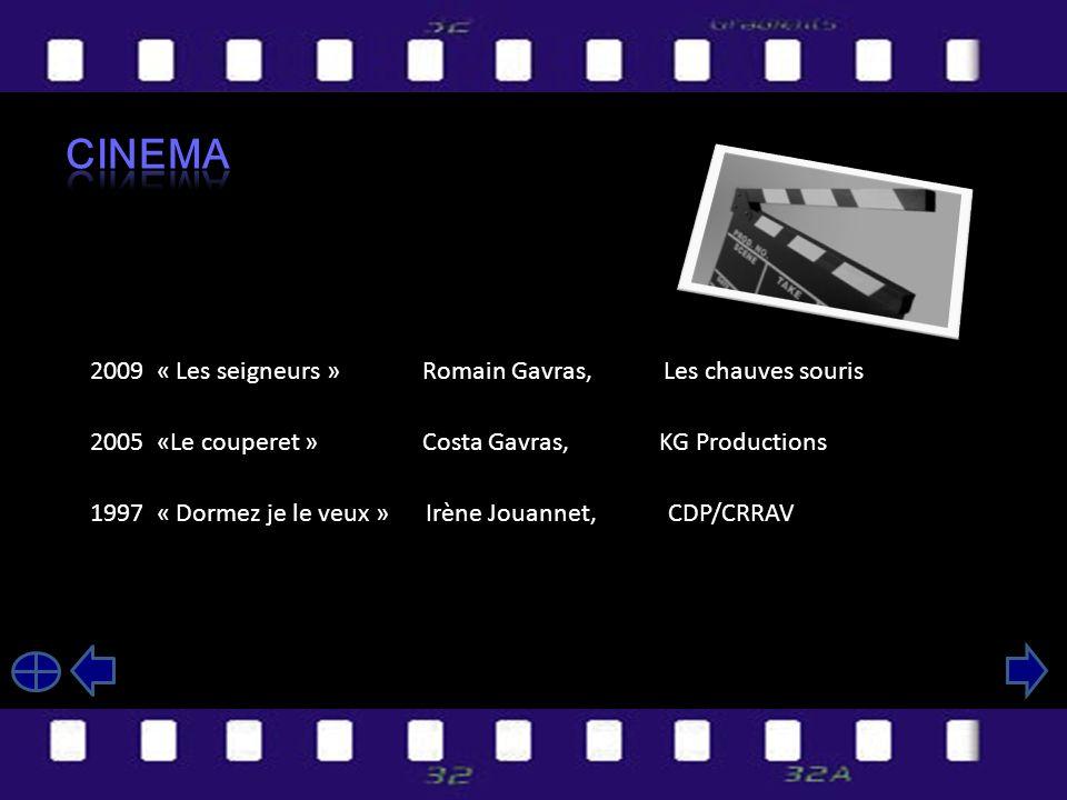 Cinema 2009 « Les seigneurs » Romain Gavras, Les chauves souris