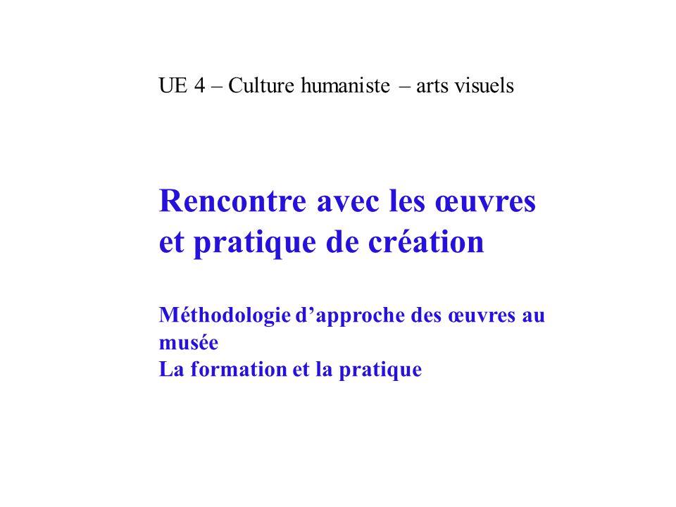 Rencontre avec les œuvres et pratique de création