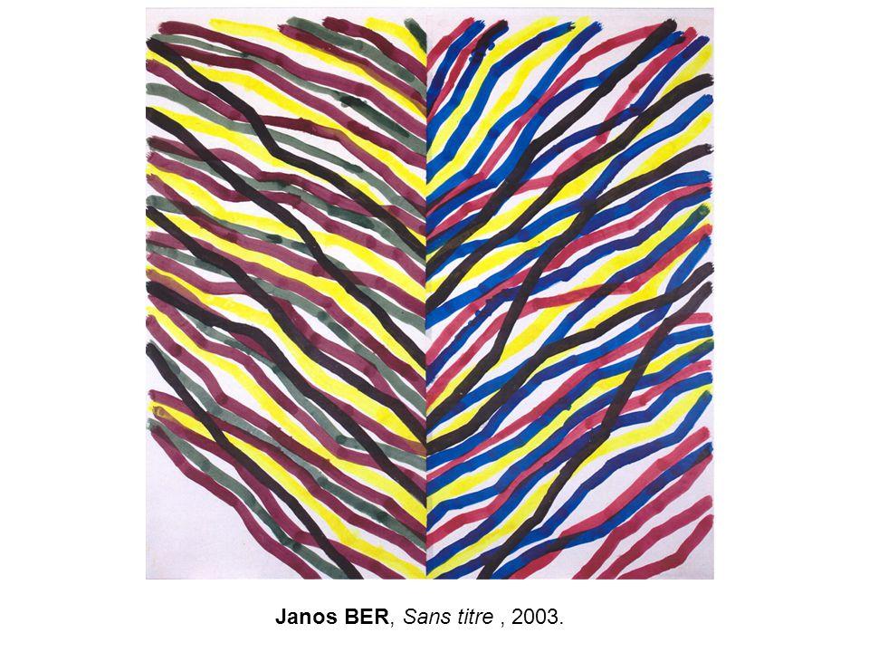 Janos BER, Sans titre , 2003.