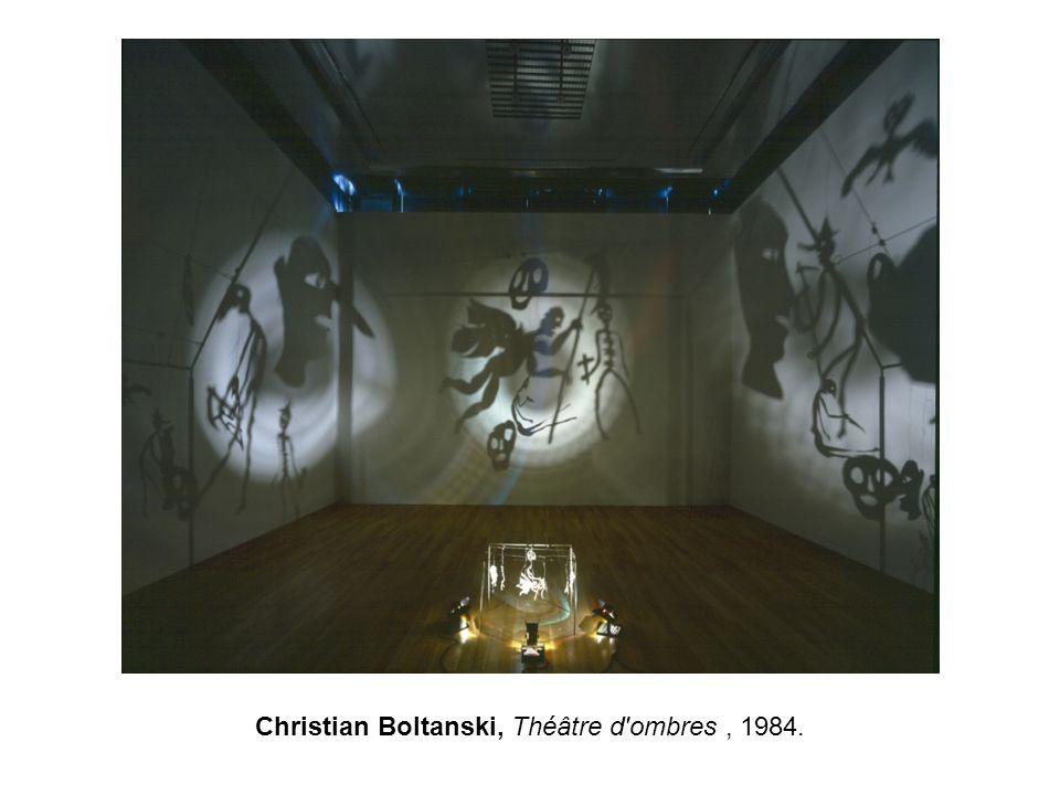 Christian Boltanski, Théâtre d ombres , 1984.