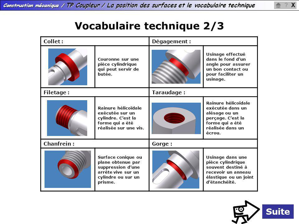 Vocabulaire technique 2/3