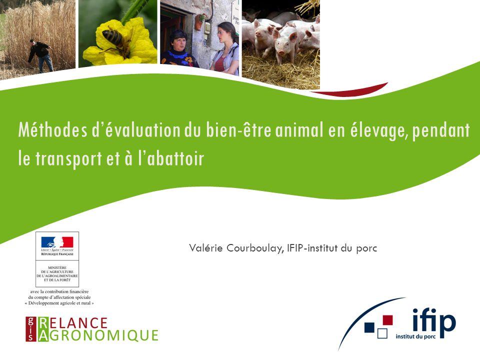 Valérie Courboulay, IFIP-institut du porc