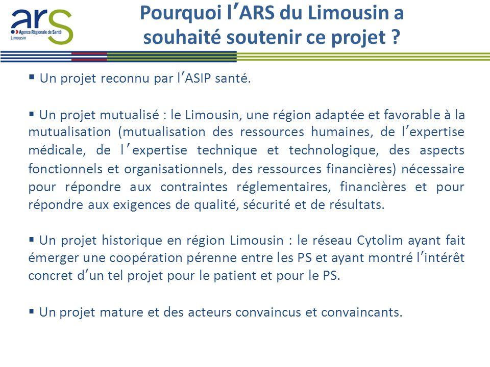 Pourquoi l'ARS du Limousin a souhaité soutenir ce projet
