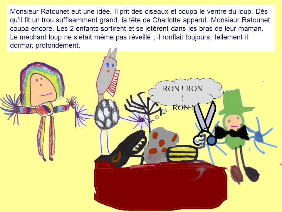 Monsieur Ratounet eut une idée