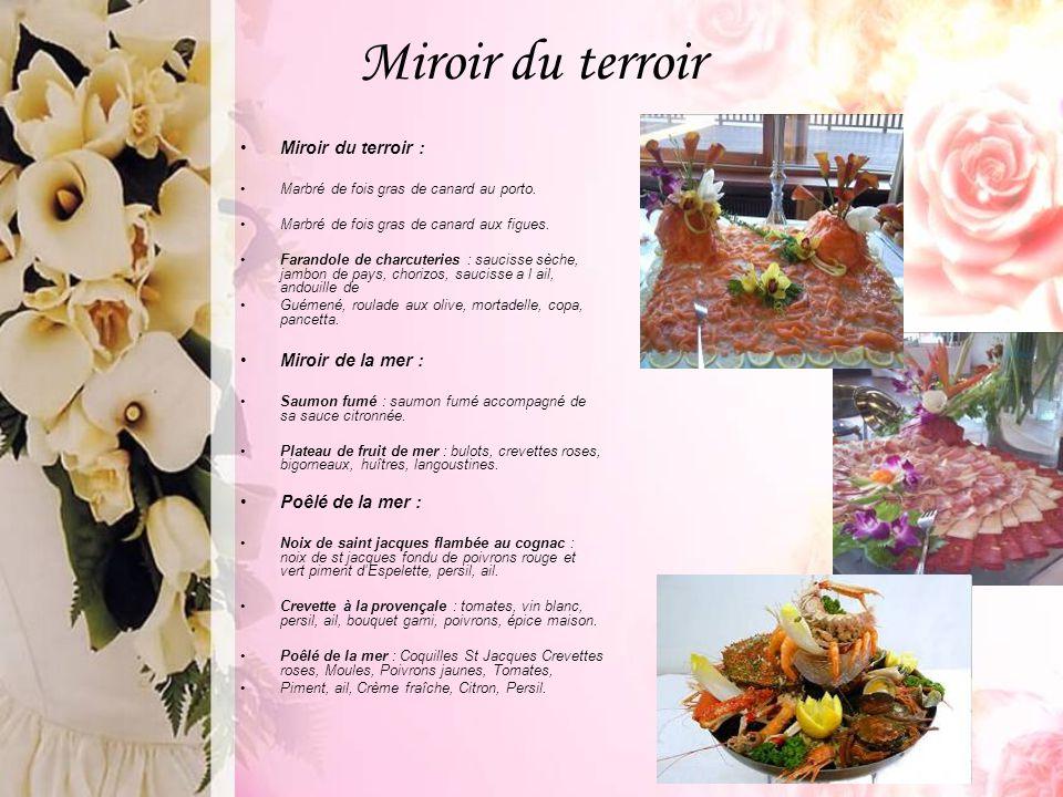 Miroir du terroir Miroir du terroir : Miroir de la mer :