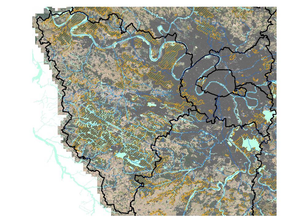 Forêt de Rambouillet et buttes du Hurepoix constituent un vaste château d'eau drainé par un réseau très dense de petits cours d'eau tournés à l'est vers l'Orge et la Remarde (ruisseau de Prédecelle, Gloriette, Rabette), au nord vers l'Yvette (ru des Vaux et divers rigoles) et à l'ouest vers l'Eure (Drouette, Vesgres et leurs affluents).