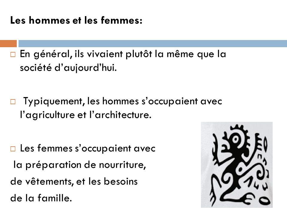 Les hommes et les femmes: