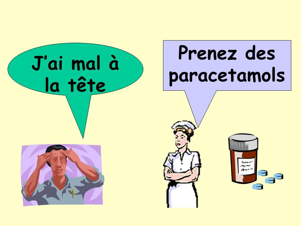 Prenez des paracetamols