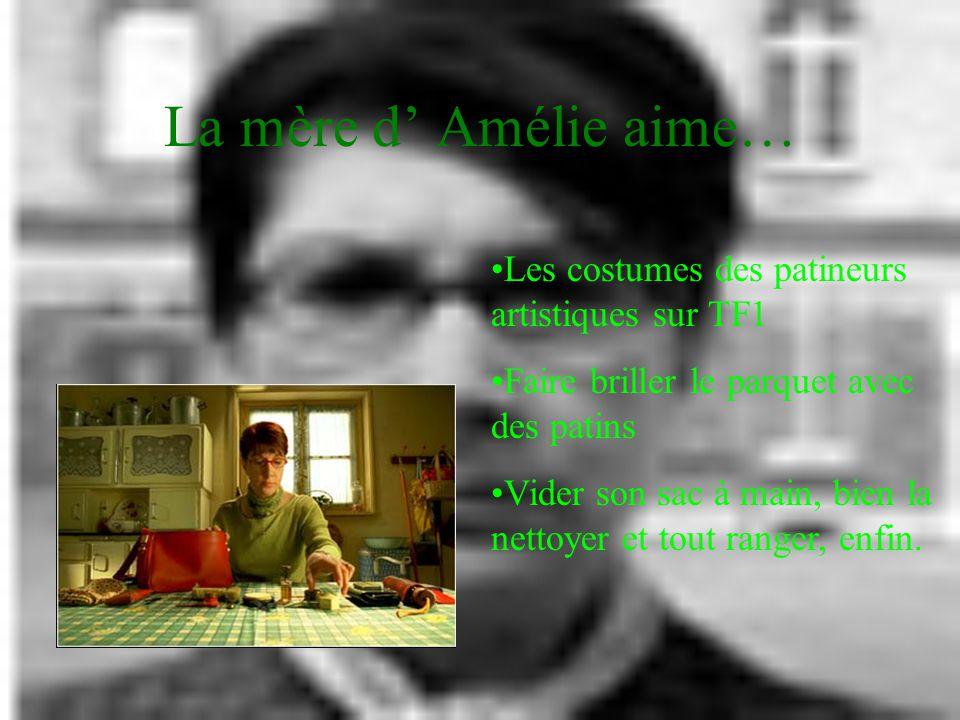 La mère d' Amélie aime… Les costumes des patineurs artistiques sur TF1