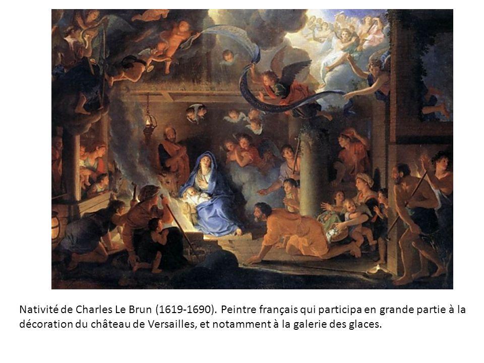 Nativité de Charles Le Brun (1619-1690)