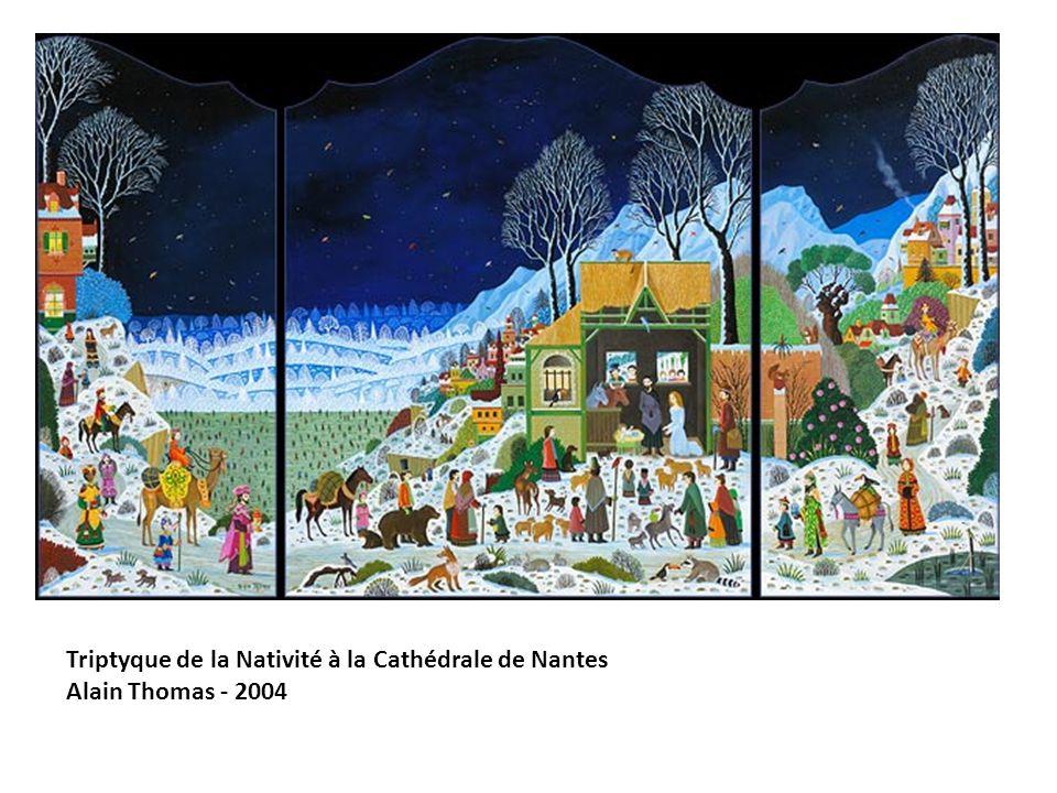 Triptyque de la Nativité à la Cathédrale de Nantes