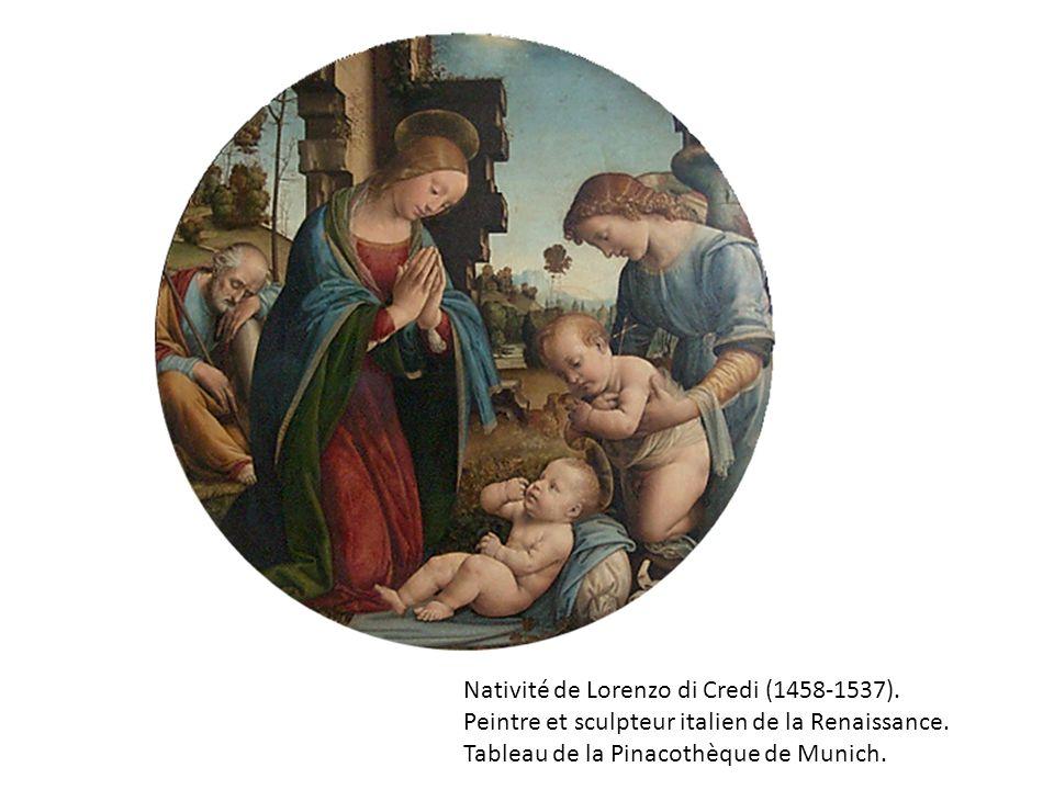 Nativité de Lorenzo di Credi (1458-1537).